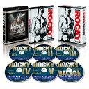 ロッキー コレクション スチールブック付きブルーレイBOX(6枚組)(数量限定生産)【Blu-ray】 [ シルベスター・スタロー…