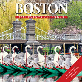 Boston 2021 Wall Calendar BOSTON 2021 WALL CAL [ Willow Creek Press ]