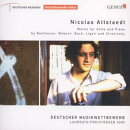 【輸入盤】ベートーヴェン:チェロ・ソナタ第4番、バッハ:無伴奏チェロ組曲第5番、他 アルトシュテット(チェロ)