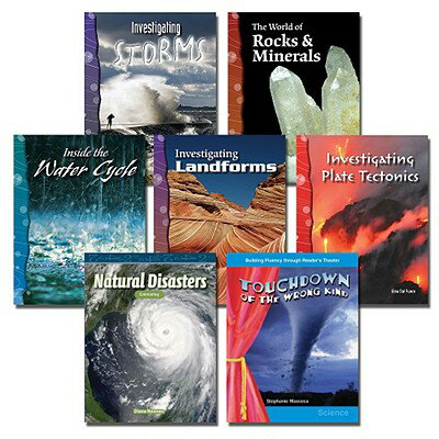 All about the Earth Set: 7 Titles ALL ABT THE EARTH SET-7CY [ Teacher Created Materials ]