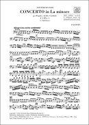 【輸入楽譜】ヴィヴァルディ, Antonio: バスーン協奏曲 イ短調 F.VIII, N.2 RV 498: パート譜セット