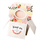 POP UP BOX CARD M GBCM-02 FLOWER