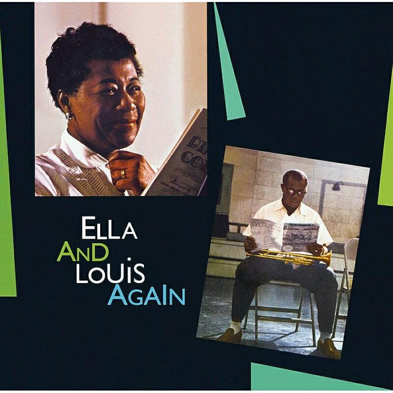 【輸入盤】Ella & Louis Again (見開き紙ジャケット仕様) [ Ella Fitzgerald / Louis Armstrong ]