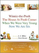 Winnie-The-Pooh Boxed Set: Winnie-The-Pooh; The House at Pooh Corner; When We Were Very Young; Now W