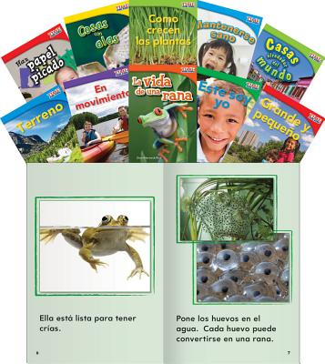 Time for Kids Informational Text Grade 1 Readers Spanish Set 1 10-Book Set (Time for Kids Nonfiction SPA-TIME FOR KIDS INFORMA-10CY (Classroom Library Collections) [ Teacher Created Materials ]