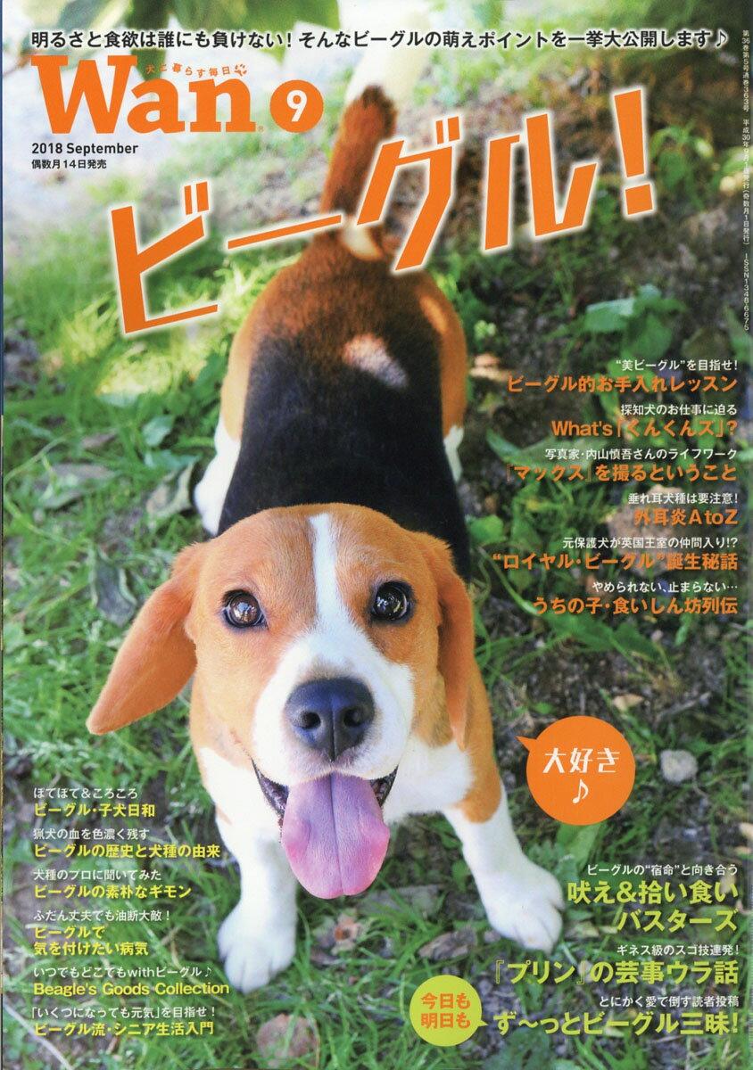wan (ワン) 2018年 09月号 [雑誌]
