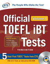 Official TOEFL IBT Tests Volume 1, Third Edition [With DVD ROM] OFF TOEFL IBT TESTS V01 3RD /E [ Educational T…