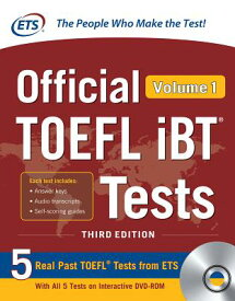 Official TOEFL IBT Tests Volume 1, Third Edition [With DVD ROM] OFF TOEFL IBT TESTS V01 3RD /E [ Educational Testing Service ]