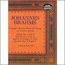 【輸入楽譜】ブラームス, Johannes: 弦楽のための室内楽曲とクラリネット五重奏曲: 大型スコア