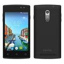 Covia SIMフリー スマートフォン 3G FLEAZ NEO 「Android5.1 / 4inch WVGA / W-CDMA / 標準SIM microSIM / 1GB / 8G…