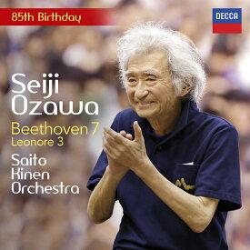 ベートーヴェン:交響曲第7番、レオノーレ序曲第3番 [ 小澤征爾 ]