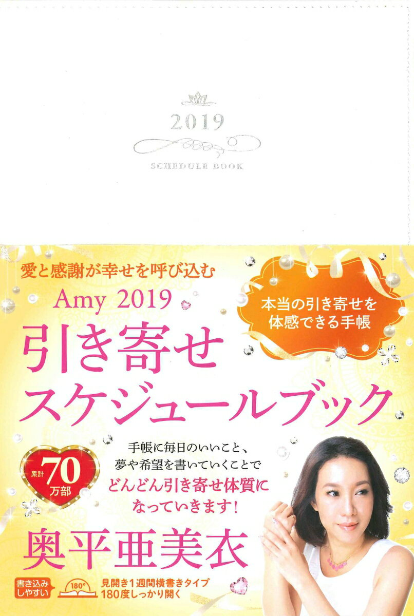 引き寄せスケジュールブック(Amy 2019) 愛と感謝が幸せを呼び込む [ 奥平亜美衣 ]