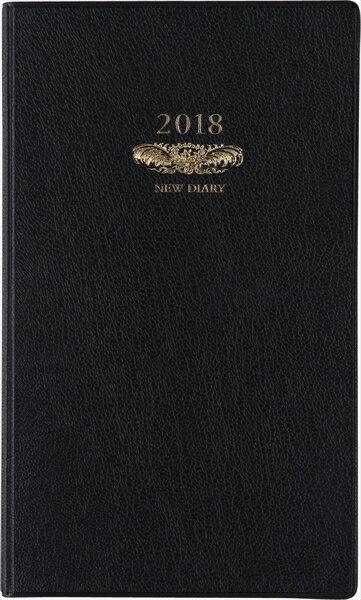 2018年版 No.103 ニューダイアリー アルファ 6 黒