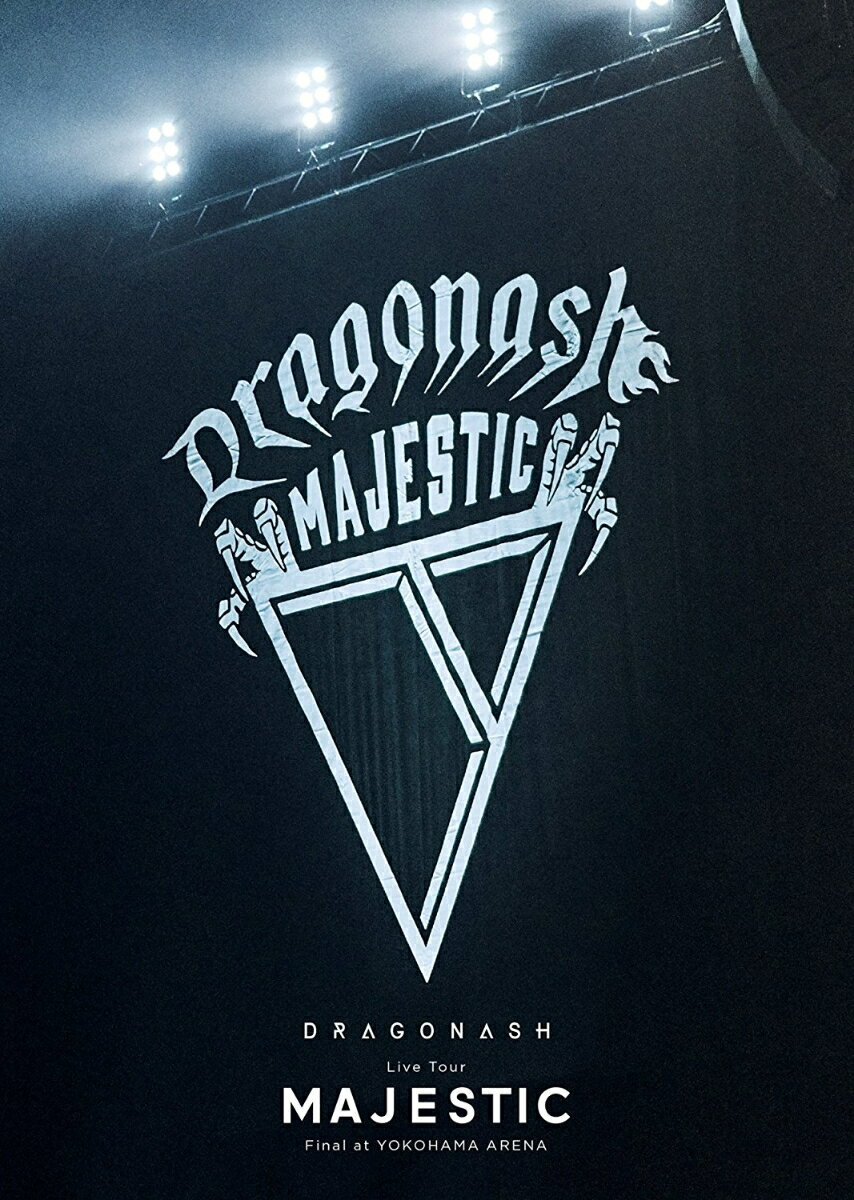 Live Tour MAJESTIC Final at YOKOHAMA ARENA DVD完全生産限定盤20th Anniversary記念パッケージ [ DRAGON ASH ]