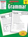 Grammar, Grade 4 SUCCESS WITH GRAMMAR GRADE 4 (Scholastic Success with Workbooks: Grammar) [ Scholastic ]