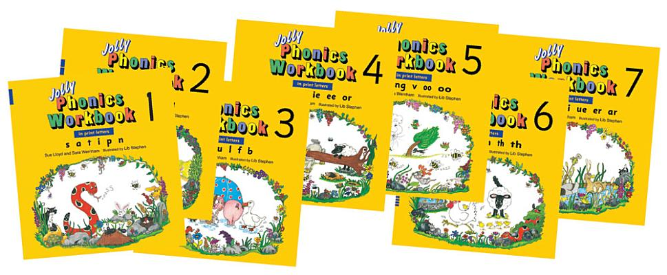 JOLLY PHONICS WORKBOOKS 1-7 [ SUE LLOYD ]