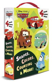 Shapes, Colors, Counting & More! BOXED-SHAPES COLORS COUNTI-4PK [ Random House Disney ]