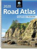 Rand McNally 2020 Road Atlas Midsize Easy Finder - Spiral