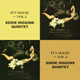 The Best Coupling Series::イッツ・マジック〜vol.1/イッツ・マジック〜vol.2 [ エディ・ヒギンズ&スコット・ハミルトン&ケン・ペプロフスキー ]