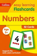 Numbers Flashcards: 52 Cards