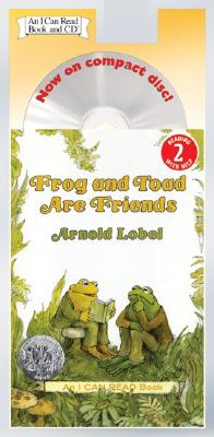 FROG AND TOAD ARE FRIENDS(PB W/CD) [ ARNOLD LOBEL ]