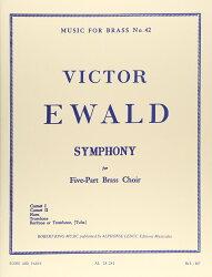 【輸入楽譜】エワルド, Victor: 金管五重奏曲 第1番 「シンフォニー」