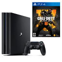 PlayStation4 Pro ジェット・ブラック 1TB+コール オブ デューティ ブラックオプス 4