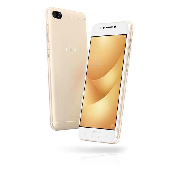 ASUS ZenFone4 Max サンライトゴールド(5.2インチ 1280×720 HD/Android 7.1.1/Qualcomm Snapdragon 430/3GB/32GB/LTE/指紋認証)ZC520KL-GD32S3