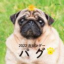 2022年 カレンダー パグ【100名様に1、000円分の図書カードをプレゼント!】