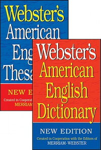 Webster'sAmericanEnglishDictionary/Webster'sAmericanEnglishThesaurusSet