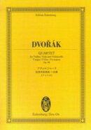 オイレンブルクスコア ドヴォルジャーク/弦楽四重奏曲 ヘ長調 《アメリカ》 作品96 [楽譜]