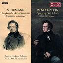 【輸入盤】シューマン:交響曲第4番(初版)、ツヴィッカウ交響曲、メンデルスゾーン:イタリア(改訂版) M.アンド…