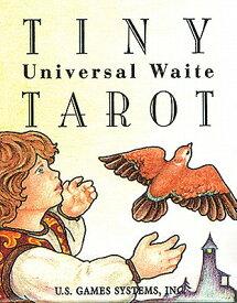 Tiny Universal Waite Tarot TAROT DECK-TINY UNIVERSAL [ Mary Hanson-Roberts ]
