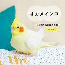 2022年 カレンダー オカメインコ【100名様に1、000円分の図書カードをプレゼント!】