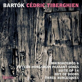 【輸入盤】ミクロコスモス第6巻、戸外にて、組曲、3つのブルレスク、15のハンガリー農民の歌 ティベルギアン [ バルトーク (1881-1945) ]