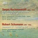 【輸入盤】Piano Concerto, 2, : 宮本弘子(P) Bunte / 関西po +schumann: Sym, 4, : Berlin So