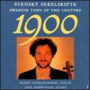 【輸入盤】Swedish Turn Of The Century Violin Music