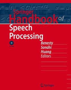 Springer Handbook of Speech Processing [With Dvdrom]