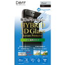 Hybrid 3D Glass Screen Protector Dragontrail for iPhone 7 Black DG-IP7A2DFBK