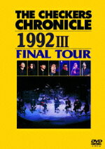 THECHECKERSCHRONICLE19923FINALTOUR[チェッカーズ]