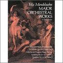 【輸入楽譜】メンデルスゾーン, Felix: 管弦楽作品選集: 大型スコア
