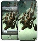 GELASKINS iPhone5 スキンシール【IcarusFish】