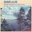 シベリウス:交響曲第1番・第5番/組曲≪カレリア≫ [ ウィーン・フィルハーモニー管弦楽団 ]