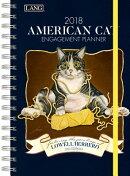 American Cat[[ 2018 Engagement Planner - Spiral