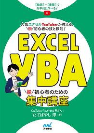 Excel VBA 脱初心者のための集中講座 [ たてばやし 淳 ]
