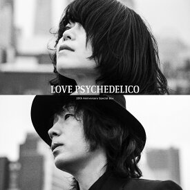 20th Anniversary Special Box (完全生産限定盤 4CD+DVD+LP+グッズ) [ LOVE PSYCHEDELICO ]