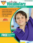 Everyday Vocabulary Intervention Activities for Grade 3 Teacher Resource