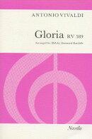 【輸入楽譜】ヴィヴァルディ, Antonio: グローリア ニ長調 RV 589 (ラテン語)/女声三部合唱編