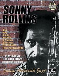 Jamey Aebersold Jazz -- Sonny Rollins, Vol 8: Book & CD