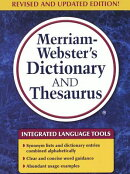 Merriam-Webster's Dictionary and Thesaurus (Trade Edition)